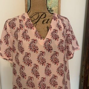 Banana republic blouse size large